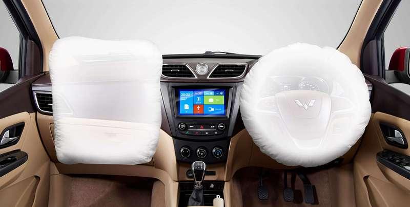Dual SRS Airbag Wuling Confero