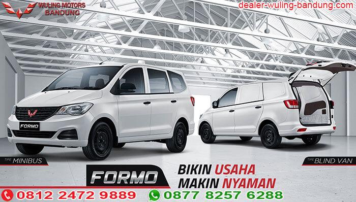 Harga Wuling Formo Bandung