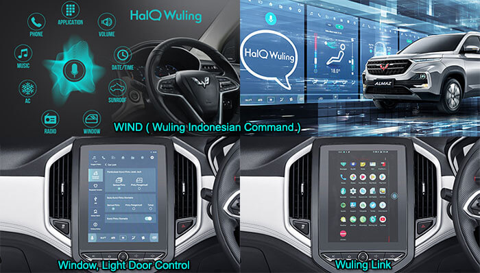 Head Unit Wuling Almaz