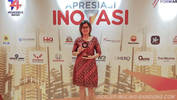 Wuling Indonesian Command Meraih Penghargaan Apresiasi Inovasi 2019