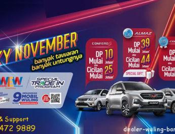 Promo November Wuling Bandung 2019
