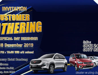 Invitation Customer Gathering Wuling Bandung