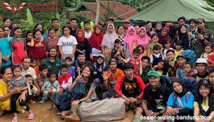 Almazers Bantu Warga Terdampak Banjir Jakarta