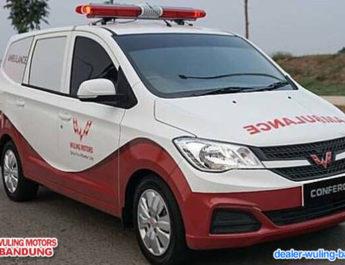 MPV Wuling Confero Ambulans Siap Beri Fasilitas Kesehatan