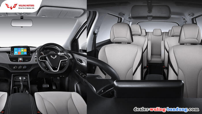Interior Wuling Cortez CT Type S