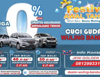 Promo Cuci Gudang Wuling Bandung 2021